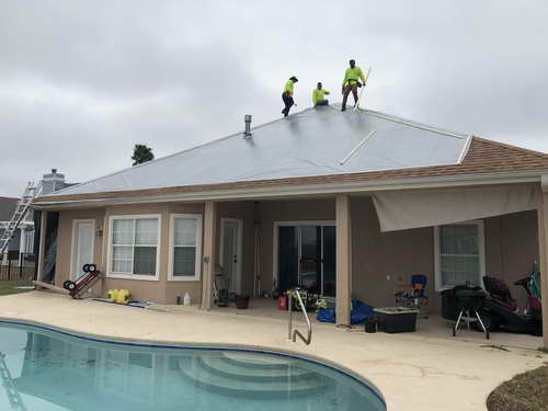 Roof Tarp Services In Broward County